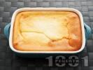 Рецепта Сладкиш / кекс с бисквити, сладко от вишни и крема сирене